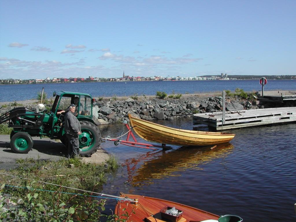 Sjösättning, 23 juni 2011